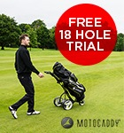 Motocaddy 18- hole trial