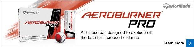 TaylorMade AeroBurner Pro golf balls