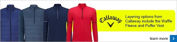 Callaway Autumn Winter clothing 2015