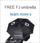 FREE FootJoy umbrella with a pair of DryJoys Tour