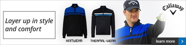Callaway Thermal and Knitwear AW16