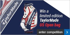 Win a limited edition TaylorMade US Open bag