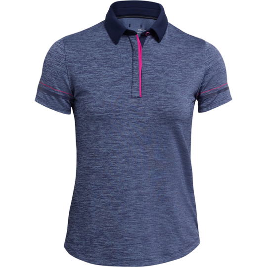 Under Armour Zinger Heathered Short Sleeve Polo Shirt